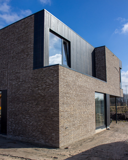 Casas modernas por Nico Dekker Ontwerp & Bouwkunde Moderno