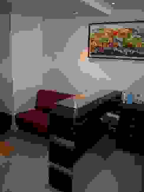 Mueble de recepción y sala de espera de Arqsol Moderno