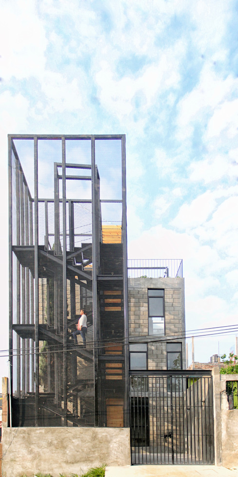 Nhà phong cách công nghiệp bởi Apaloosa Estudio de Arquitectura y Diseño Công nghiệp