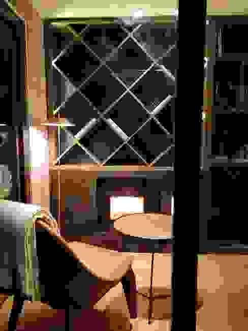 Casa Foa 2018 Home Office Oficinas y bibliotecas de estilo moderno de Kaa Interior | Arquitectura de Interior | Santiago Moderno Madera Acabado en madera