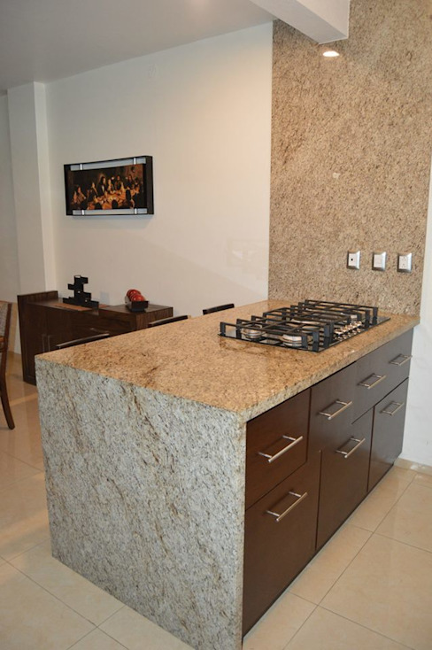 Casa FM Cocinas modernas de Zona Arquitectura Más Ingeniería Moderno