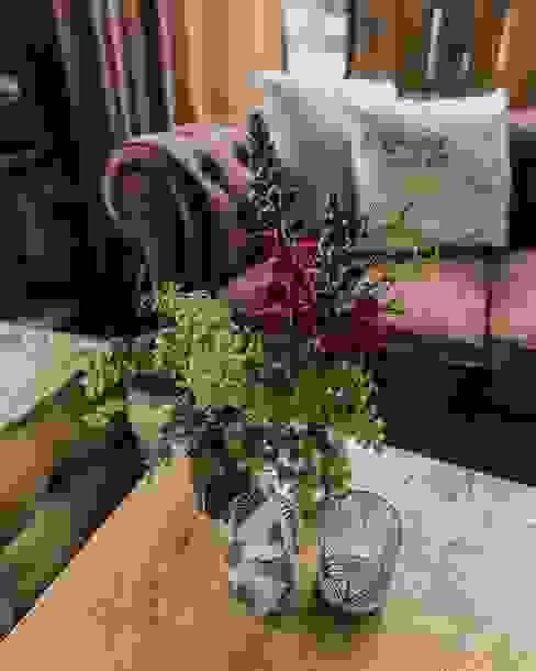 Detalles. Muebles Marieta Salones de estilo rural Verde