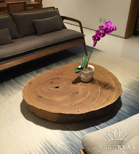 rustic  by ArboREAL Móveis de Madeira, Rustic Solid Wood Multicolored