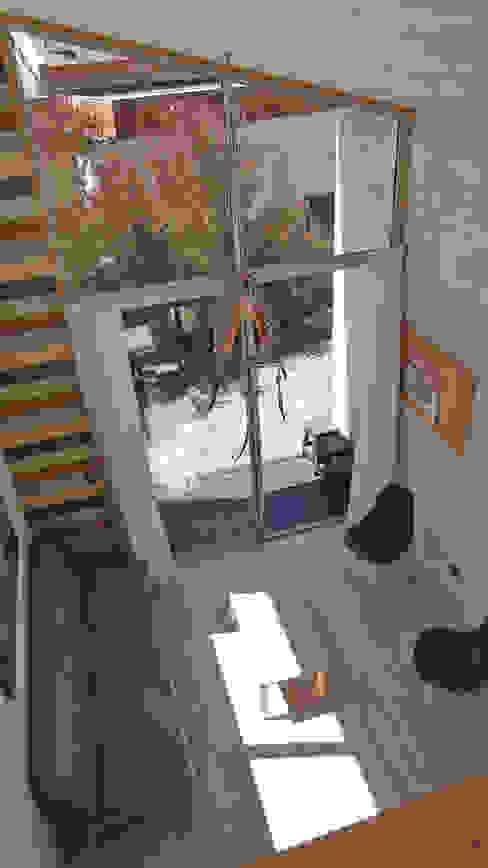 Cabañas Algarrobo Livings de estilo escandinavo de m2 estudio arquitectos - Santiago Escandinavo
