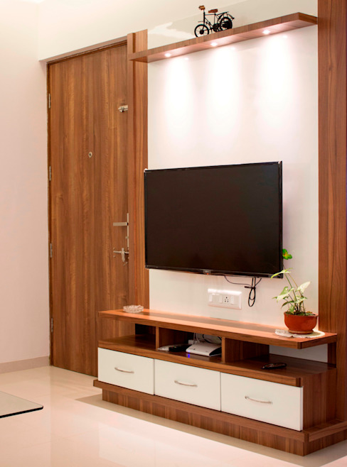 TV UNIT: minimalist  by YAAMA intart,Minimalist