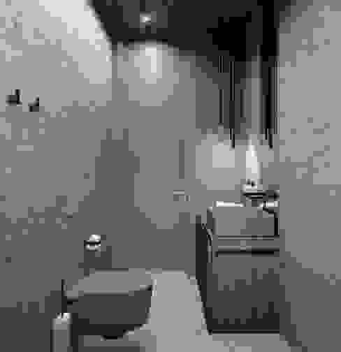 PARALLEL Ванная комната в стиле минимализм от ANARCHY DESIGN Минимализм