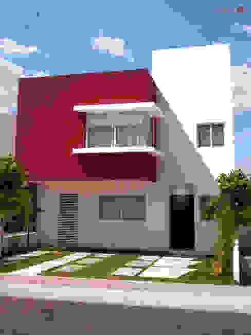 Desarrollos Habitacionales Spazia Casas modernas de SPAZIA Moderno