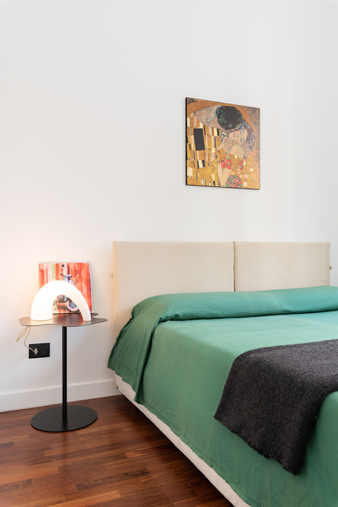 B+P architetti Modern style bedroom