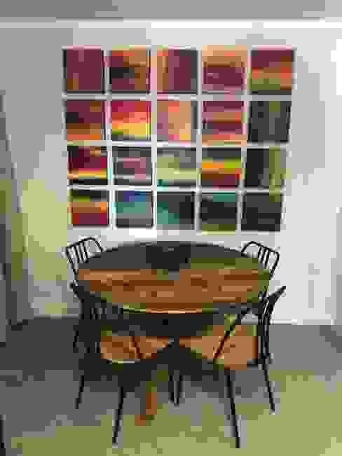 Dining area Lean van der Merwe Interiors Eclectic style dining room