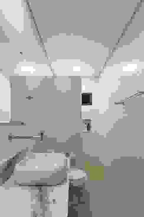 Banheiro Otoni Arquitetura Banheiros minimalistas Mármore Branco