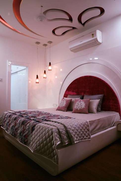 Bedroom Colour schemes homify Modern style bedroom