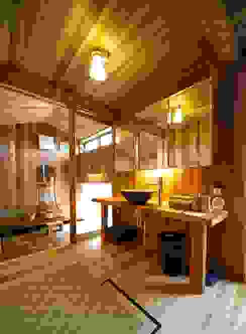 洗面室 株式会社高野設計工房 和風の お風呂