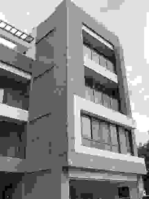 別墅外觀側面照 讚基營造有限公司 別墅 水泥 Grey