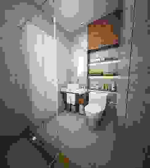 Baño y lavado Baños modernos de GA Experimental Moderno