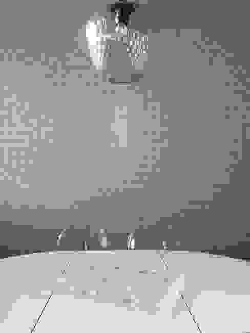 Papier peint salle à manger Thomas JENNY Salle à manger moderne Bleu