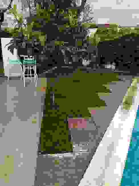 Jardín de lavandas Jardines de estilo rústico de Agroinnovacion paisajismo sustentable Rústico