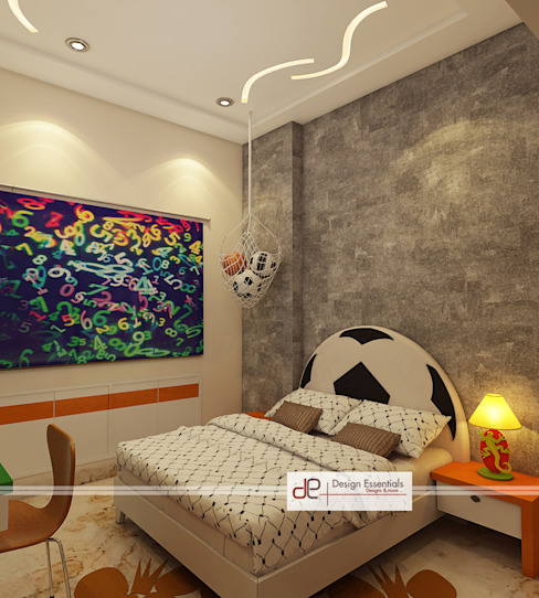 kids bedrooms Modern style bedroom by Design Essentials Modern