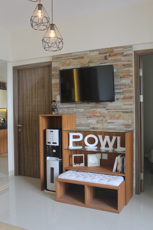 POWL Studio Living roomTV stands & cabinets