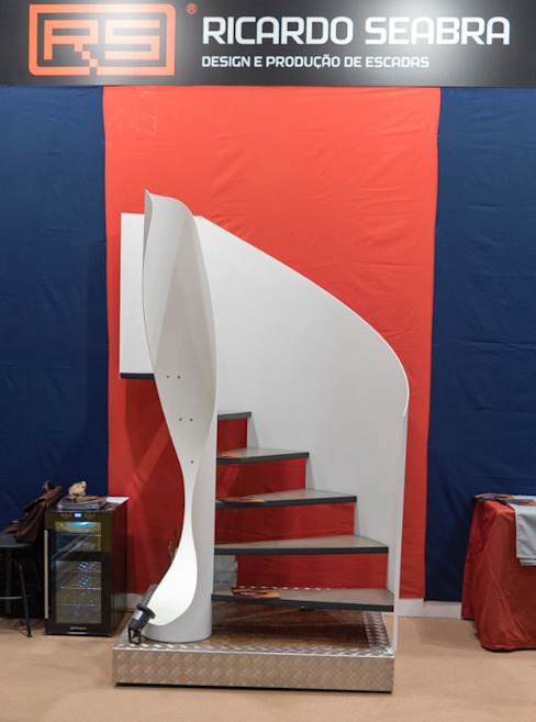 Escadas Ricardo Seabra Corredor, hall e escadasEscadas