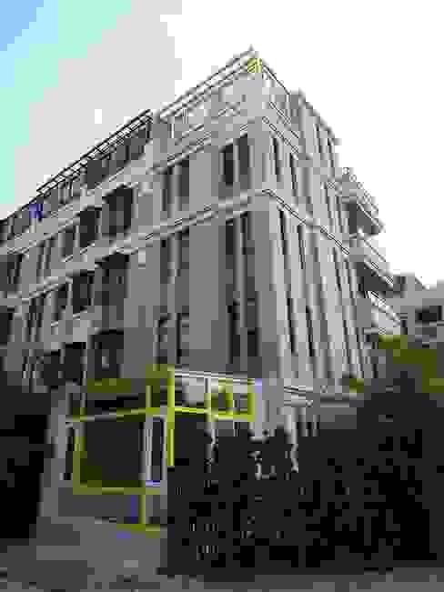 建築外觀 根據 houseda 隨意取材風 磁磚
