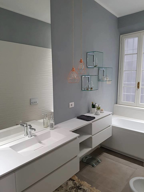 Bathroom by new life HOME, Modern