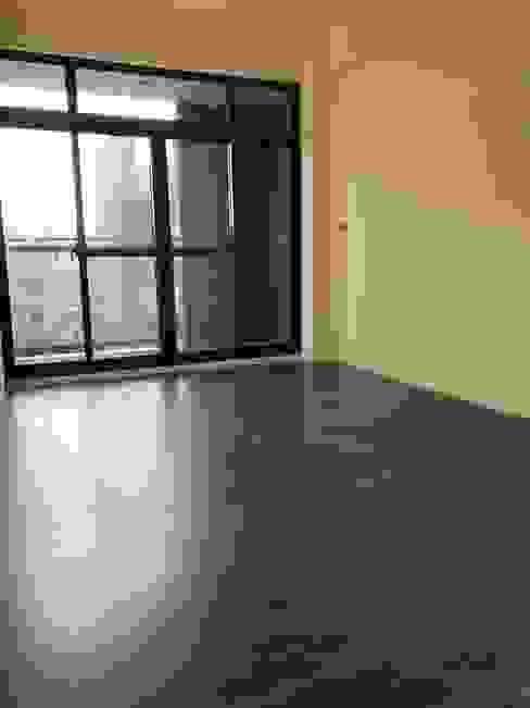 木質地板的臥房 讚基營造有限公司 臥室