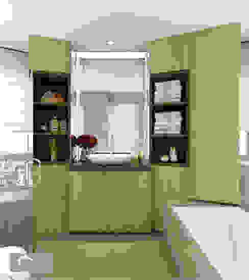 Bathroom Minimalist style bathroom by Singapore Carpentry Interior Design Pte Ltd Minimalist