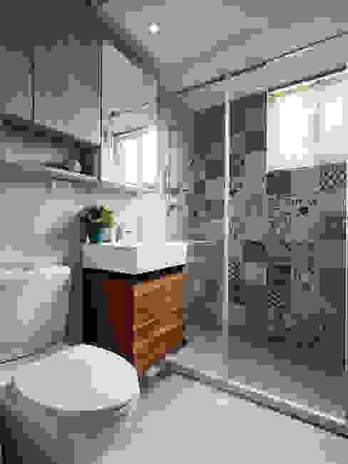 Scandinavian style bathrooms by 耀昀創意設計有限公司/Alfonso Ideas Scandinavian