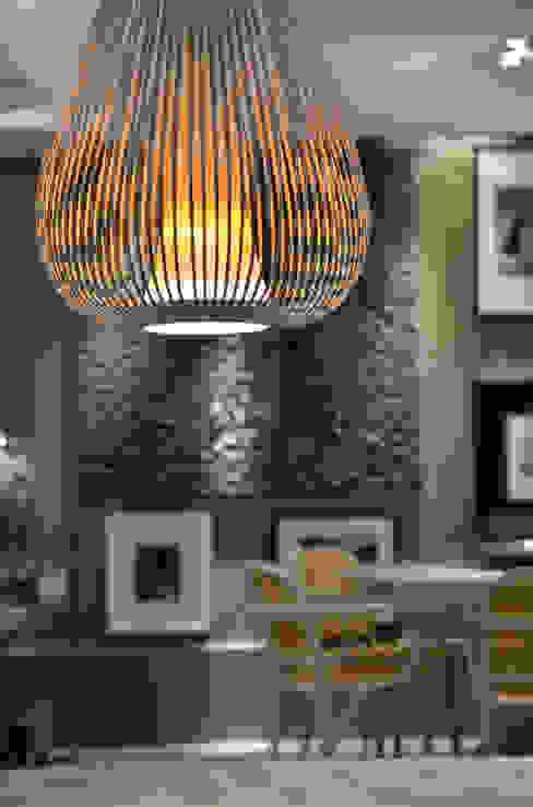 Detalhe pendente: Salas de estar  por BG arquitetura   Projetos Comerciais,Moderno