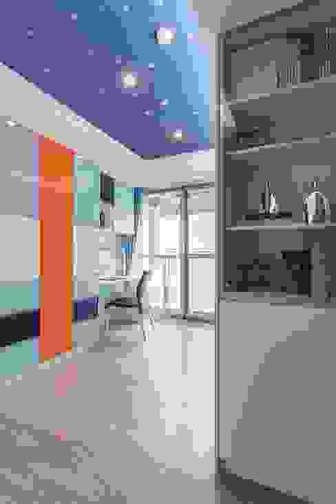 書房 根據 鼎士達室內裝修企劃 現代風 木頭 Wood effect