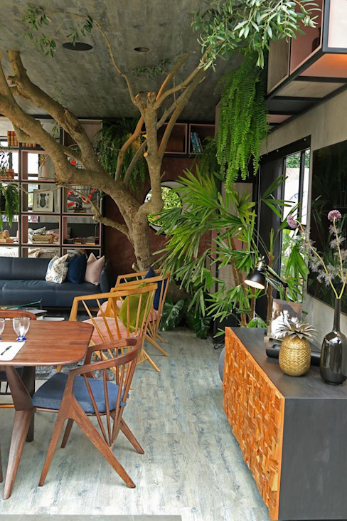Garden Chic Perú Paisajismo - Loft de Marianne Casacor 2018: Paisajismo de interiores de estilo  por Garden Chic Perú,