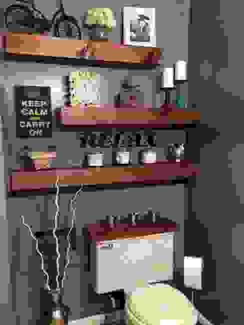fabricación de cocinas, baños, closets para departamentos: Baños de estilo  por CRAT