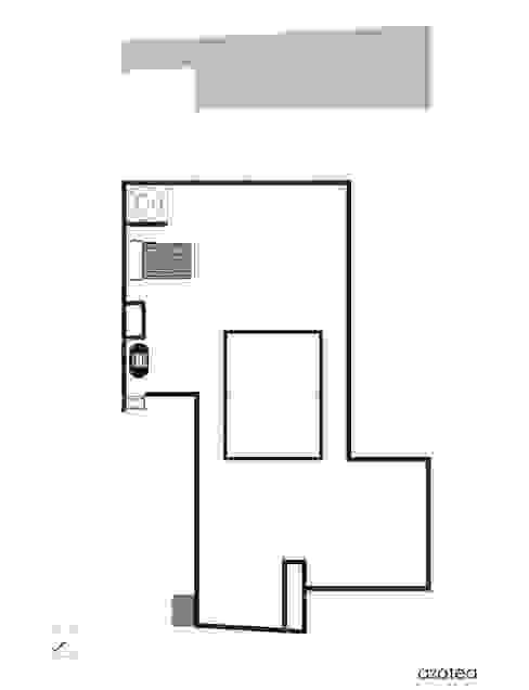 Planta 3er nivel.:  de estilo  por Creer y Crear. Arquitectura/Diseño/Construcción,