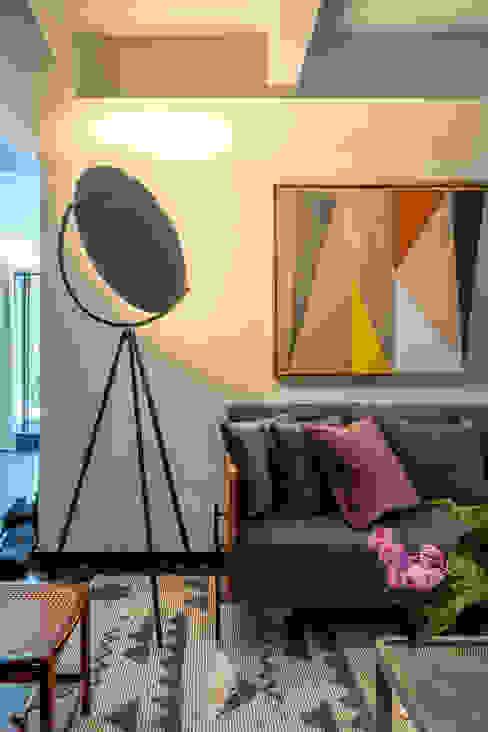 Gisele Taranto Arquitetura Modern living room