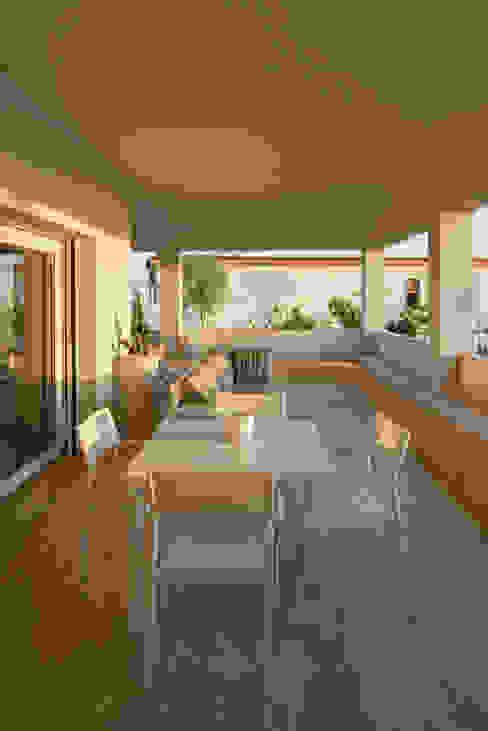 Villa Passariello Sala da pranzo moderna di manuarino architettura design comunicazione Moderno