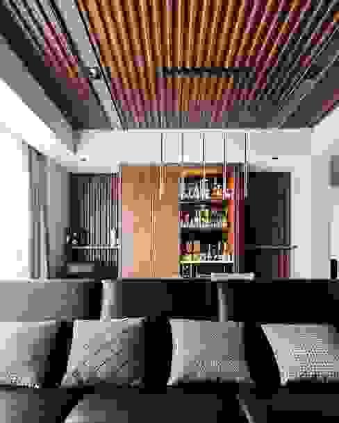 Pondok Indah Residence: Ruang Keluarga oleh FIANO INTERIOR, Industrial