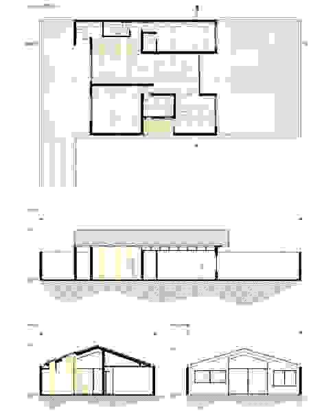 Planimetría proyecto. de D01 arquitectura Moderno