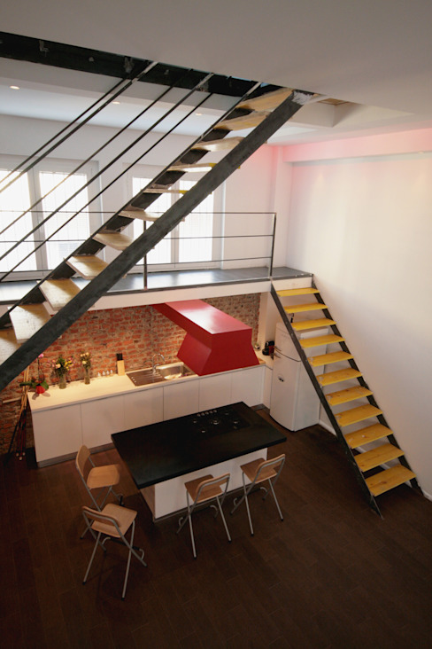 LOFT ABITAZIONE CDA studio di architettura Scale