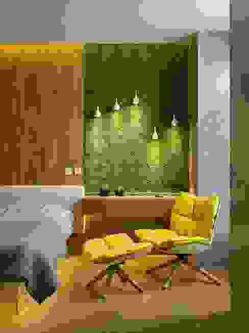 YOSUN DUVAR & DİKEY BAHÇE ÇALIŞMALARI SKY İç Mimarlık & Mimarlık Tasarım Stüdyosu İskandinav