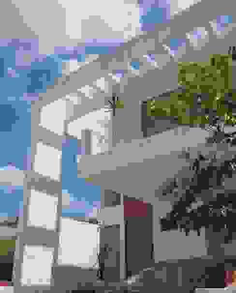 Proyecto Residencial Corregidora Arquenta, Arquitectura de Diseño Casas unifamiliares Ladrillos Blanco
