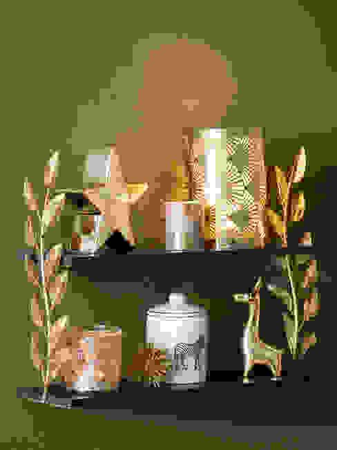 Detalle decorativo de la tendencia navideña Wild homify Salas/RecibidoresAccesorios y decoración Ámbar/Dorado