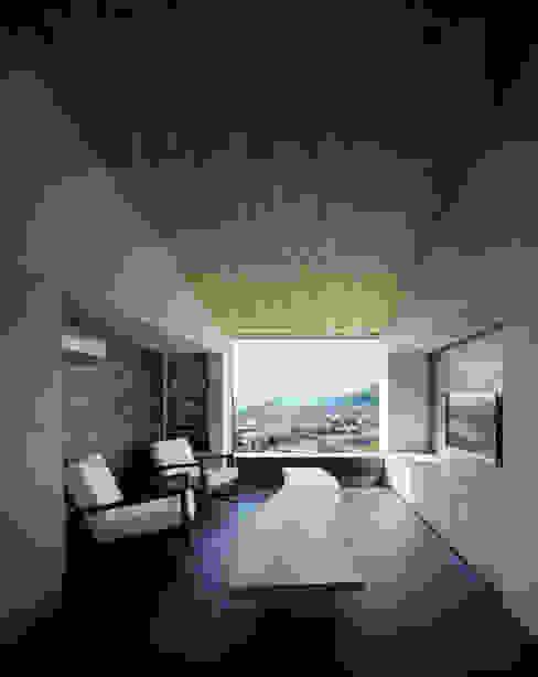 松岡淳建築設計事務所 Asian style living room
