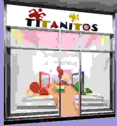Propuesta de diseño presentada al cliente de Faerman Stands y Asoc S.R.L. - Arquitectos - Rosario Minimalista