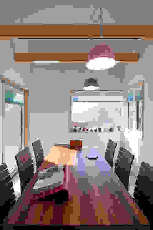 Dining room by 위드하임, Modern