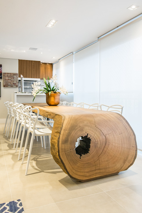 Dining room by ArboREAL Móveis