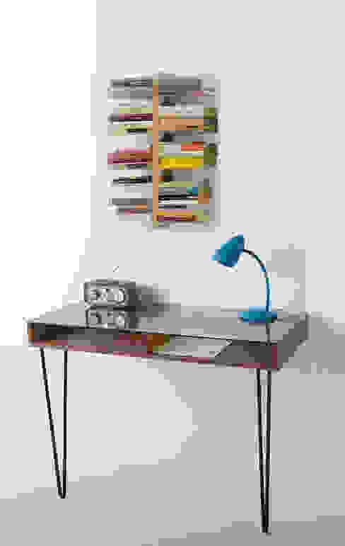 Libreria sospesa a muro Zia Bice h 60 Le zie di Milano StudioArmadi & Scaffali Legno
