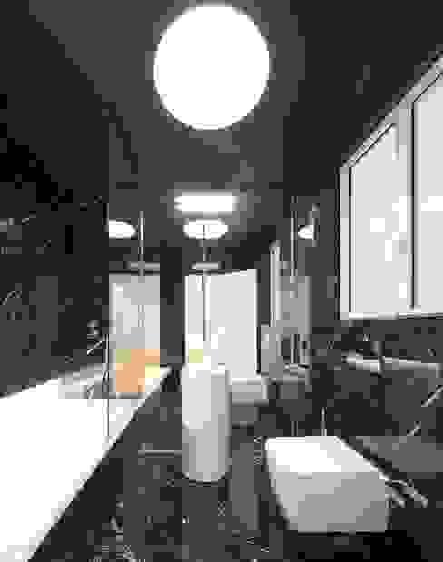 Espaços personalizados Casas de banho minimalistas por Padimat Design+Technic Minimalista Mármore