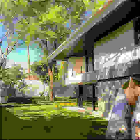 Casa Fresno (Jardín) Arqmando taller de arquitectura Jardines clásicos