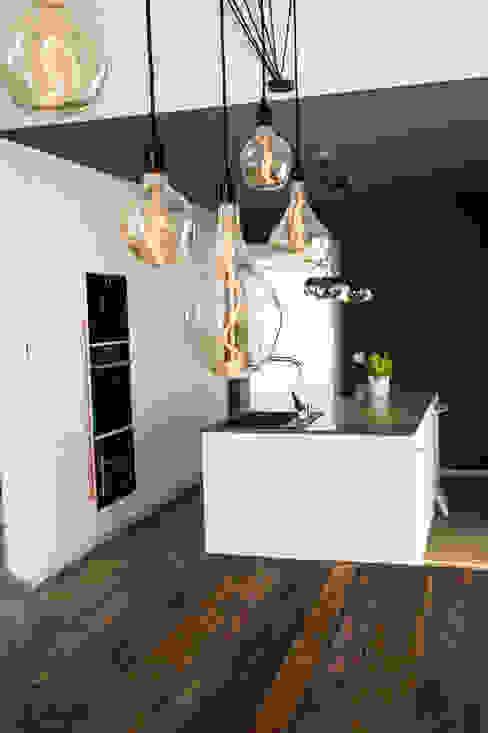 Projekty,  Jadalnia zaprojektowane przez hysenbergh GmbH | Raumkonzepte Duesseldorf,