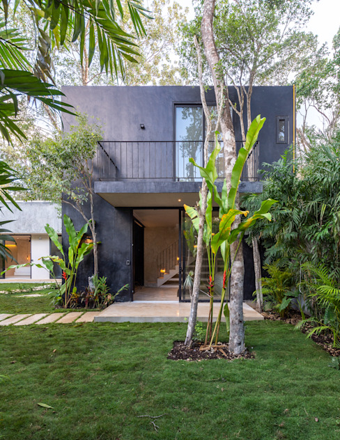 Villas by Obed Clemente Arquitectos, Tropical Concrete